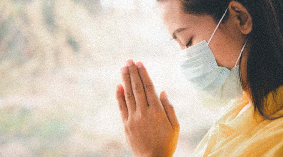 Oración por fortaleza en los enfermos de covid